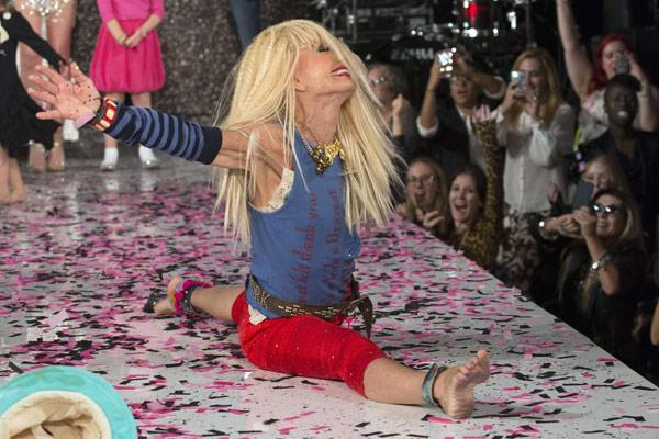 New York Fashion Week Betsey Johnson 15 Chinadaily Com Cn