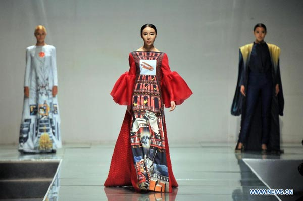 Beijing Institute Of Fashion Technology Holds Fashion Show 1 Chinadaily Com Cn