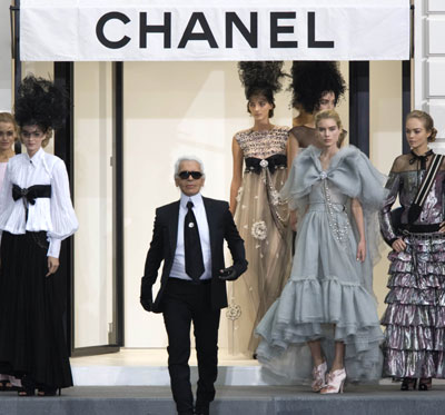 Karl Lagerfeld Meets With Carla Bruni
