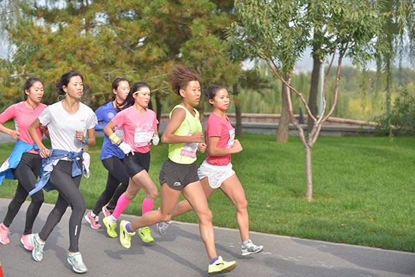 Half-marathon gets women running in