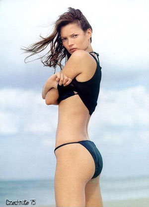 The 2006 British Model Kate Moss