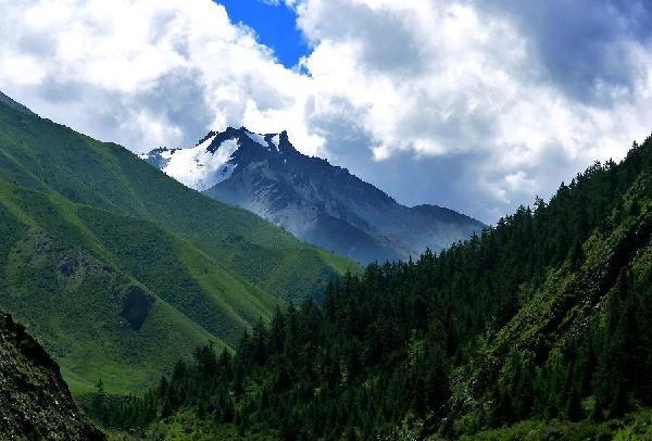 Qilian Mountain (Zhangye)