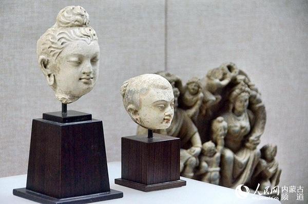 Gandhara Buddha Statues Exhibited In Inner Mongolia 1