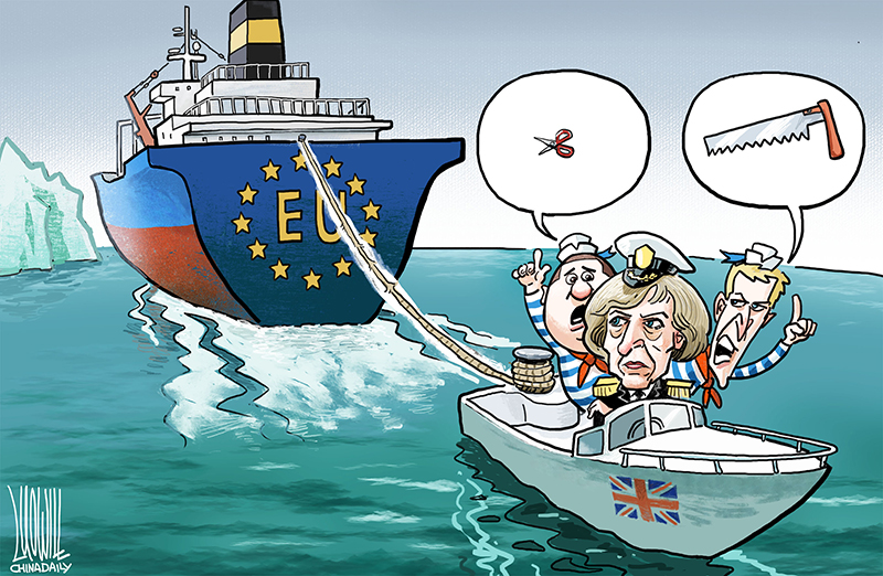 Severing ties with EU - Opinion - Chinadaily.com.cn