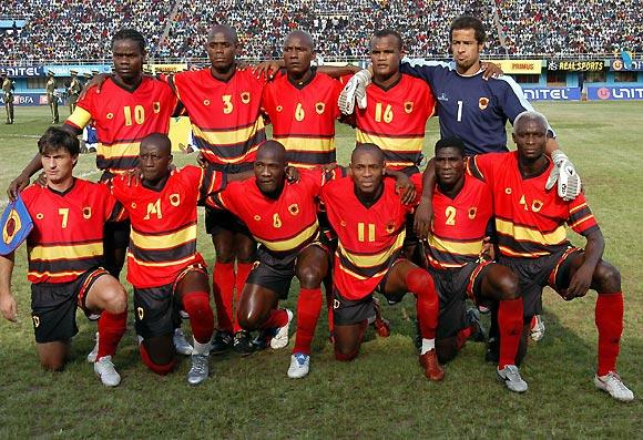 نتيجة بحث الصور عن Angola national football team 2006