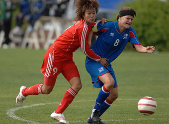 <b>Women's</b> soccer humiliated by <b>Iceland</b> 4-1