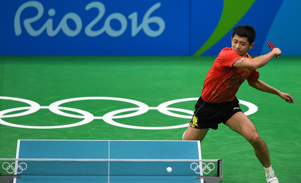 Chinese Table Tennis Remains On The Ball Sports Chinadaily Com Cn