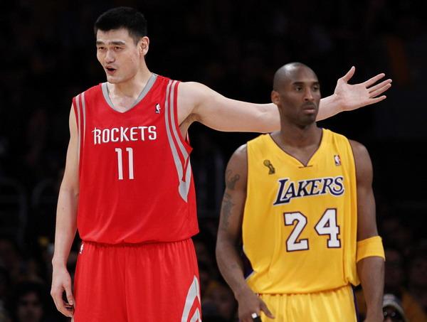 Kobe曾力邀姚明加盟,禪師:如果他來的話,湖人能拿到更多的冠軍!-Haters-黑特籃球NBA新聞影音圖片分享社區