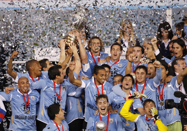 Forlan scores two as Uruguay win Copa America|Other Sports|chinadaily.com.cn