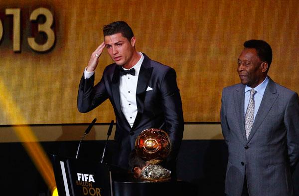 Cristiano Ronaldo Wins Fifa Best Player Award 1 Chinadaily Com Cn