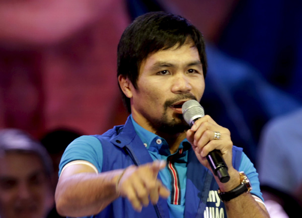 ke drops boxer Manny Pacquiao after anti-gay