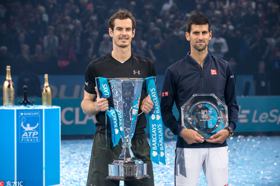 Murray Beats Djokovic To Win Atp Finals Title 2 Chinadaily Com Cn