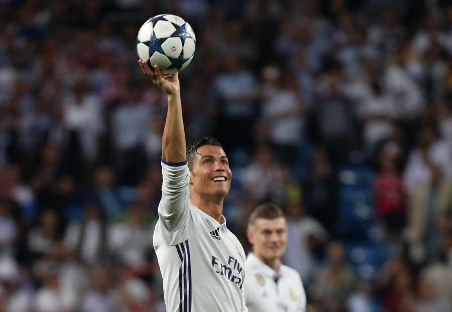 Ronaldo hat trick puts Madrid into Champions League semis[1]-  Chinadaily.com.cn