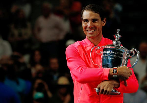 Us Open Winner Rafael Nadal Stresses Normality In Interview Sports Chinadaily Com Cn