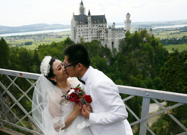 Group Marriage At Neuschwanstein Castle