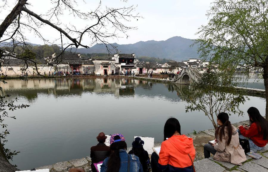 Image result for hongcun village