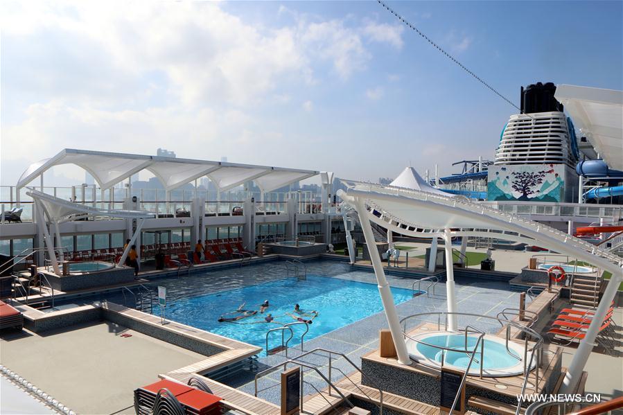 Meet Newest Luxury Cruise Ship World Dream In Hk 7 Chinadaily Com Cn