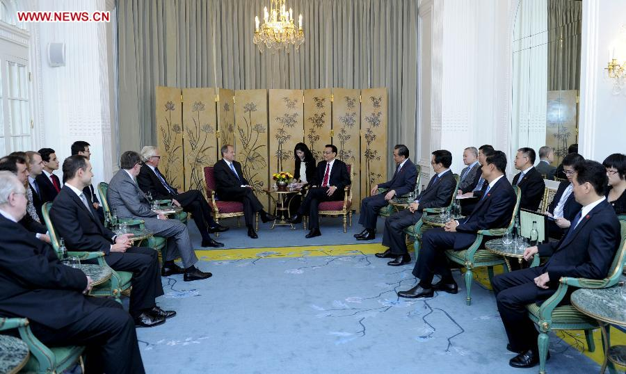Li meets with Chairman of British 48 Group Club and 'Young ...