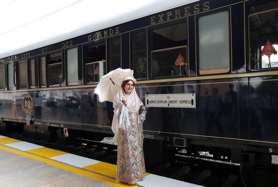 Orient Express Train Arrives In Istanbul