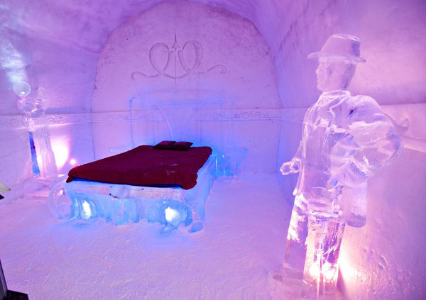 Ice Hotel Presented To Public In Quebec City Canada