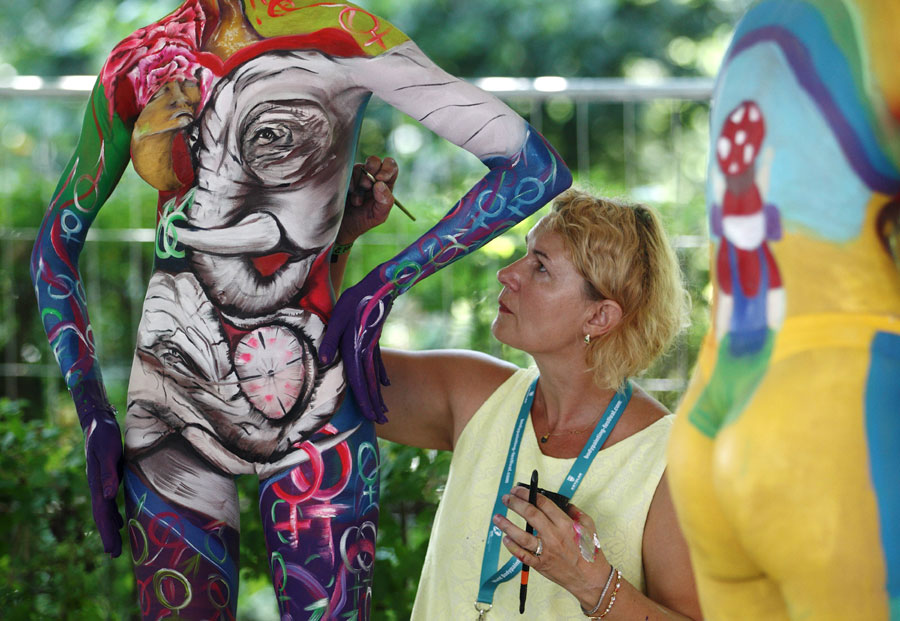 World Bodypainting Festival Held In Austria 3 Chinadaily Com Cn