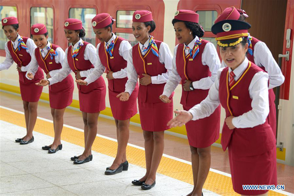 Ethiopia-Djibouti railway sets new model for China-Africa cooperation - World - Chinadaily.com.cn