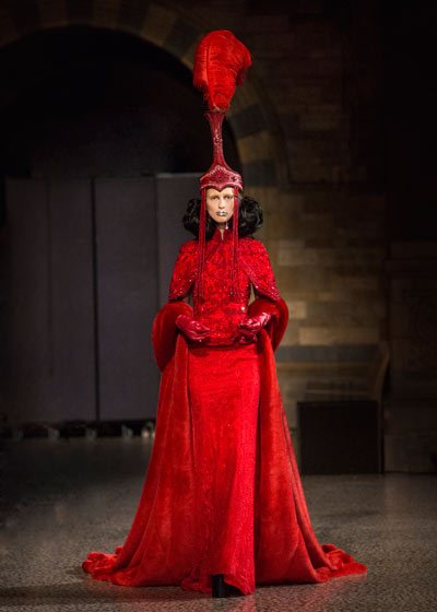 Chinese Designer Channels Inner Mongolian Roots At Avant Garde Fashion Show World Chinadaily Com Cn