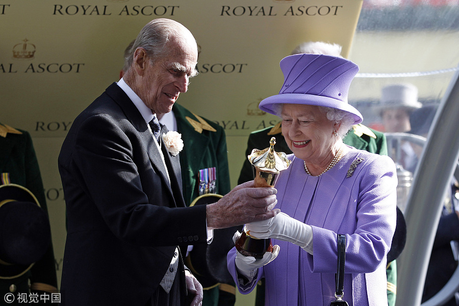 Walk down memory lane: Historic images of Queen Elizabeth II, Prince Philip[16]-  Chinadaily.com.cn